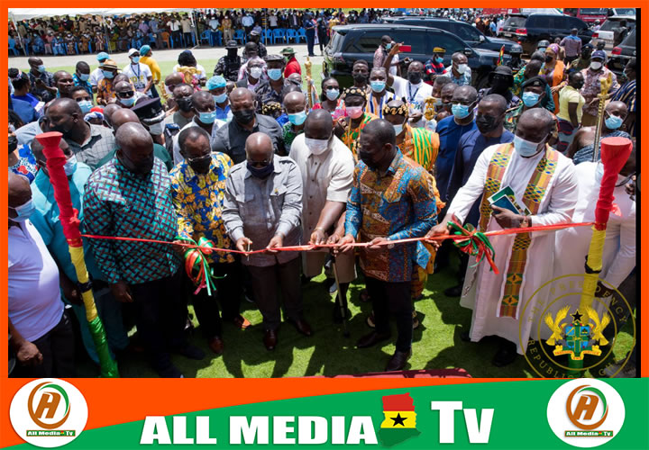 1D1F: GH¢10m yam, cassava factory commissioned in Addo